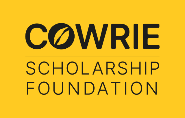 The logo of the Cowrie Scholarship Foundation