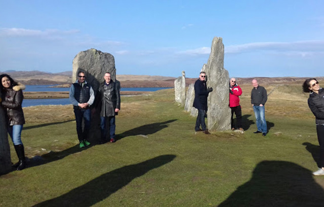 The MS team on the Isle of Lewis