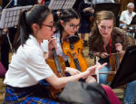 Students participating in the Music Junction programme. Credit: Marc Gascoigne