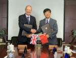 Photograph of Professor Colin Bailey and Mr Sheng Jianxue