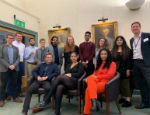 Photograph of Queen Mary's Degree Apprentices and academics