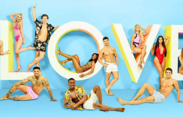 Photograph: Some of the contestants appearing on Love Island