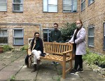 Students from Queen Mary's School of English and Drama have organised the installation of a memorial bench in tribute to Dr Catherine Silverstone