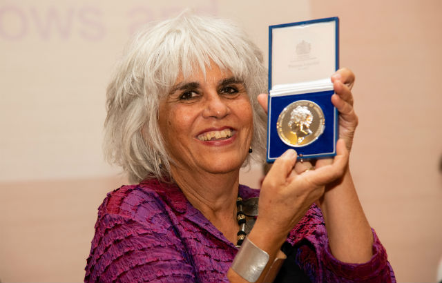 Photograph of Professor Susheila Nasta. Credit: Adrian Pope