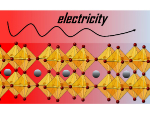 How thermoelectric materials generate electricity
