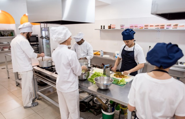 Many migrants work in the hospitality sector in Europe