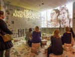 An installation at the Southbank Centre showcased the research from Rio