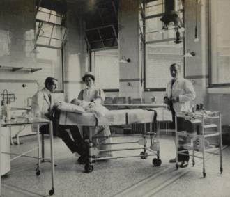 Operating theatre at the London