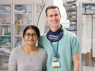 Professor Amrita Ahluwalia and Dr Dan Jones