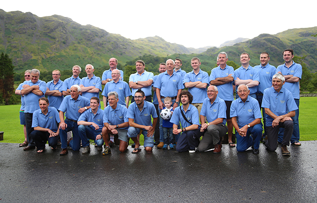 The 50th anniversary party in the Lake District