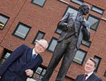 Lord Hennessy, Clement Attlee Statue, Lord Mandelson