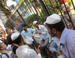 The Dabbawallas (lunch delivery men) of Mumbai