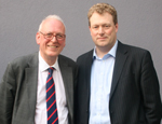 Lord Peter Hennessy and James Johns, Director of Strategy, Public Sector at HP