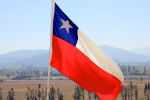 Chilean flag. Credit: Ryan Bjorkquist