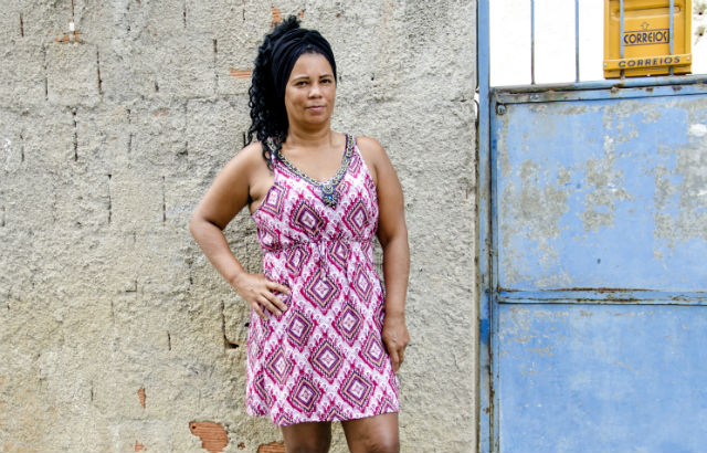 20 women from Rio's biggest favella give their testimonies of Violence Against Women and Girls (VAWG). Credit: Marcia Faria