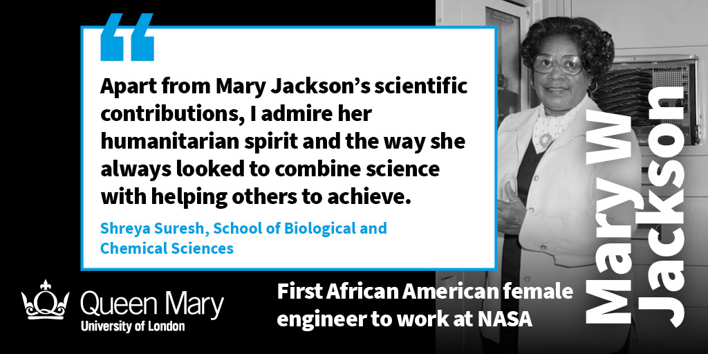 Black History Month People Profile Mary W Jackson