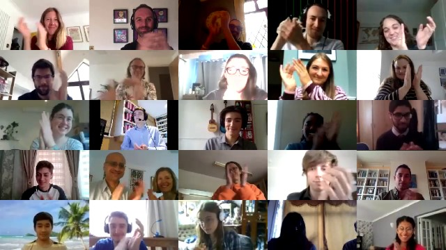 Attendees at the 2020 Cosmic Con virtual conference