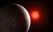 Super-Earths discovered orbiting nearby star. Credit: University of Göttingen