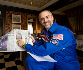 British-born astronaut Richard Garriott