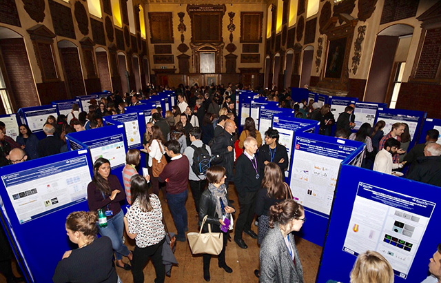 Poster presentations in the Great Hall