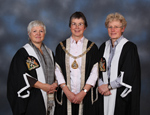 Professor Greenhalgh (right) with Dr Iona Heath & Professor Amanda Howe