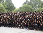 BUPT students graduate in Beijing