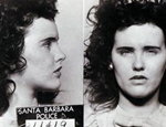 Elizabeth Short's arrest photo from 1943 for underage drinking