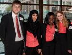 Members of QM SIFE at the SIFE UK National Competition 2012
