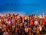 Over 180 scholars attended the Queen Mary International Scholars Reception