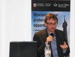 Professor Jef Huysmans' lecture looked at the EU refugee crisis and terrorism.