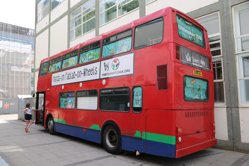 London Bus at Queen Mary