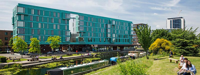 QMUL's Student Village by the Regent's Canal
