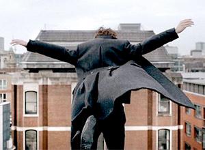 Scene from Sherlock BBC series