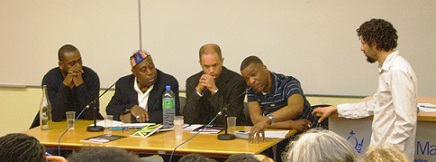 Recession, Racism and Riots Event panel
