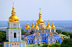 St Michael's Golden-Domed Monastery in Kyiv, Ukraine