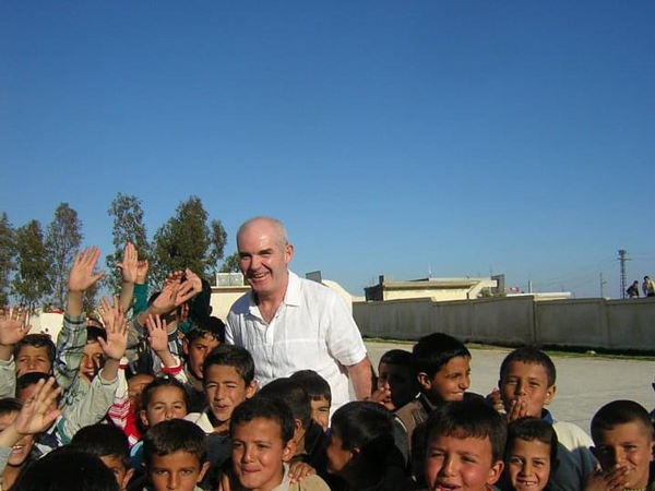 SED Ali Campbell Working with children from village communities on the Golan Heights; Syria; 2005