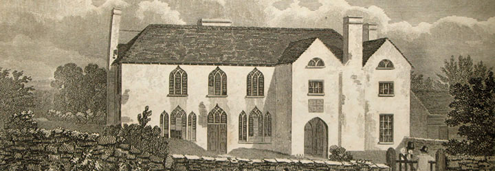 Trevecca College, Brecknockshire, South Wales, 1768 -- photograph courtesy of the Trustees of Dr Williams's Library