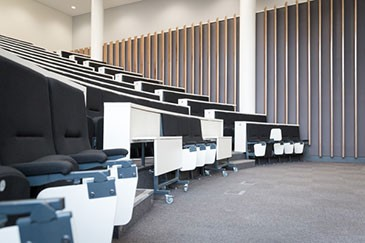 The new 200-seat Peston Lecture Theatre