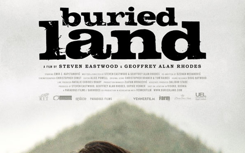 Buried Land poster