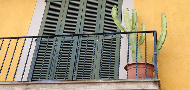A balcony in Mallorca