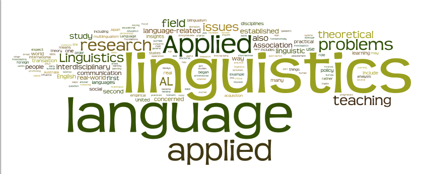 Applied Linguistics Wordls