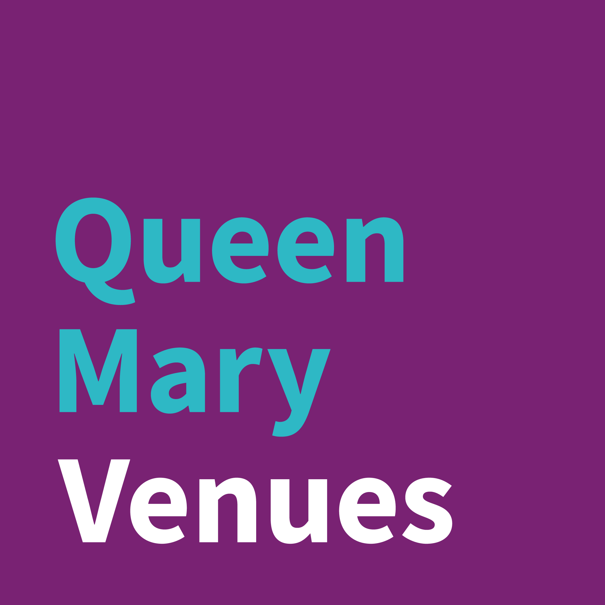 Queen Mary Venues Logo.