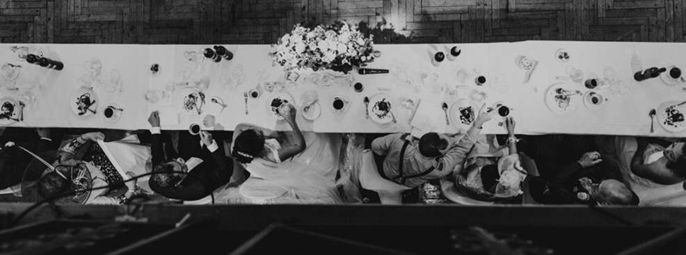 A wedding breakfast at Queen Mary